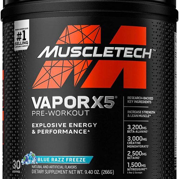 muscletech pre entreno x5 vapor colombia cali medellin bogota