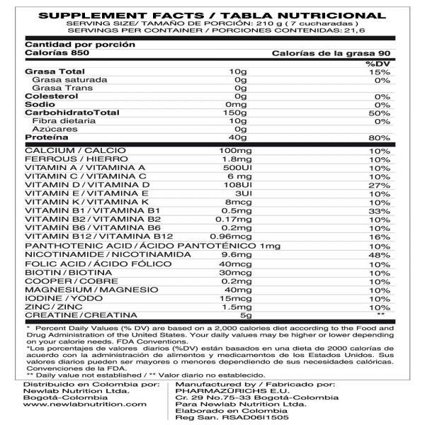 titan-plus-10-lbs-proteinas-hipercaloricas-tabla