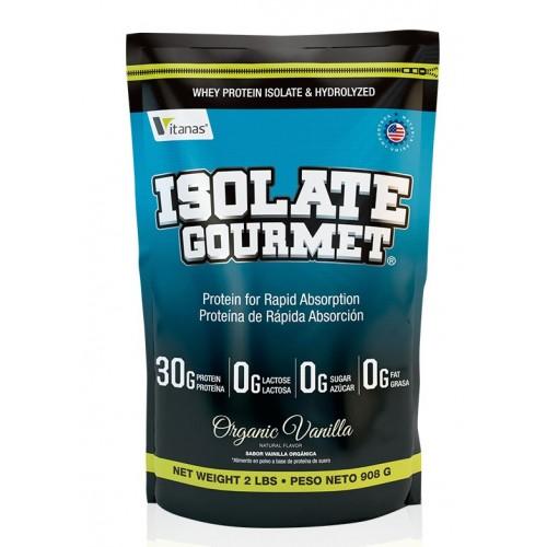 isolate gourmet proteina