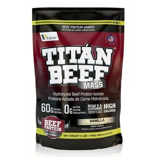 titan beef mass