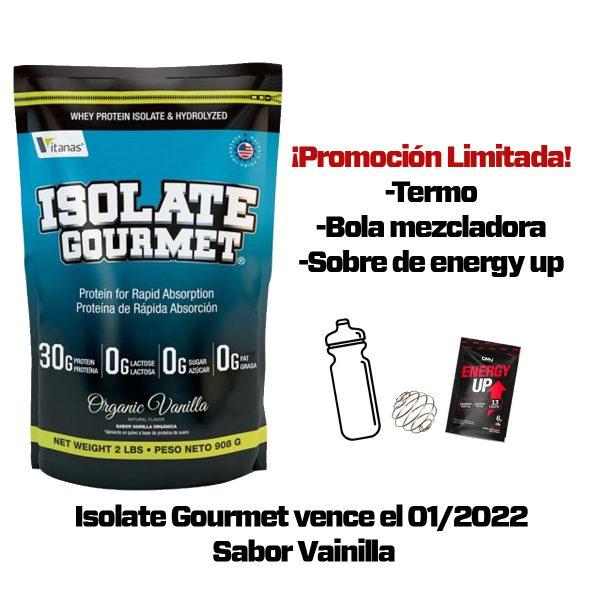 isolate gourmet proteina